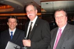 Conseuro Rome 2006 Professor M. Ferrari, president EFCD, Dr F. Caughmam past-presdent AOD and Prof. N. Wilson.