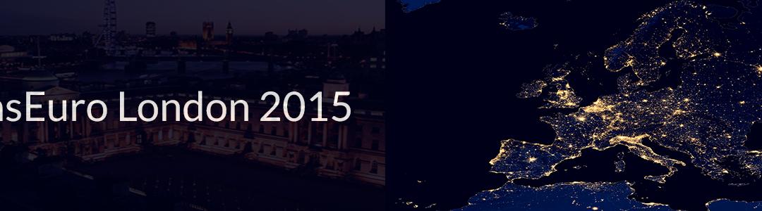 7th CONSEURO London 2015